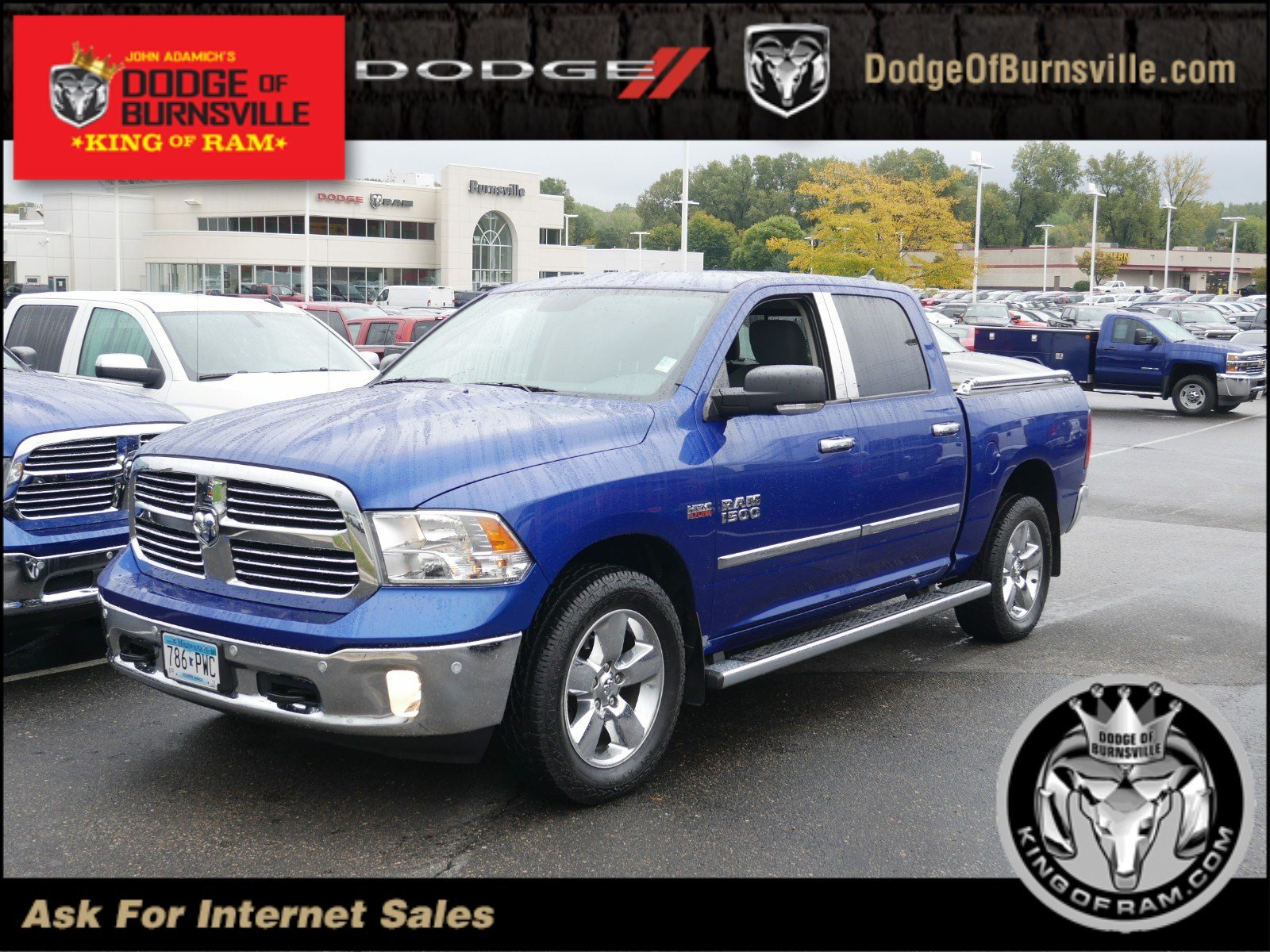 Pre Owned 2015 Ram 1500 Big Horn Crew Cab Pickup In Burnsville 2014 Dodge Tow Hooks