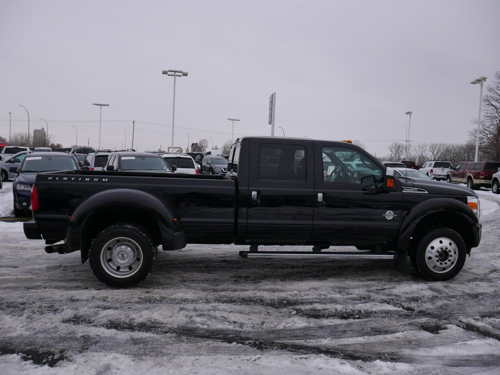 Pre-Owned 2016 Ford Super Duty F-450 DRW Platinum