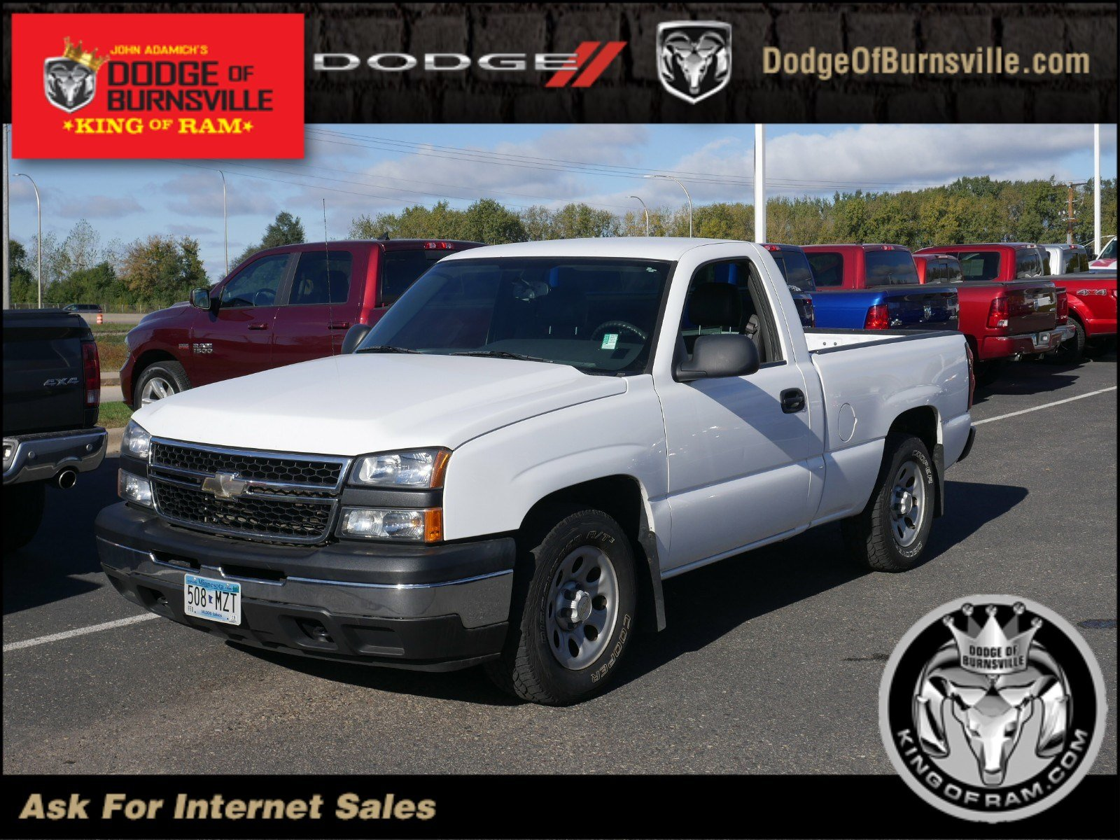 Pre Owned 2007 Chevrolet Silverado 1500 Classic Work Truck