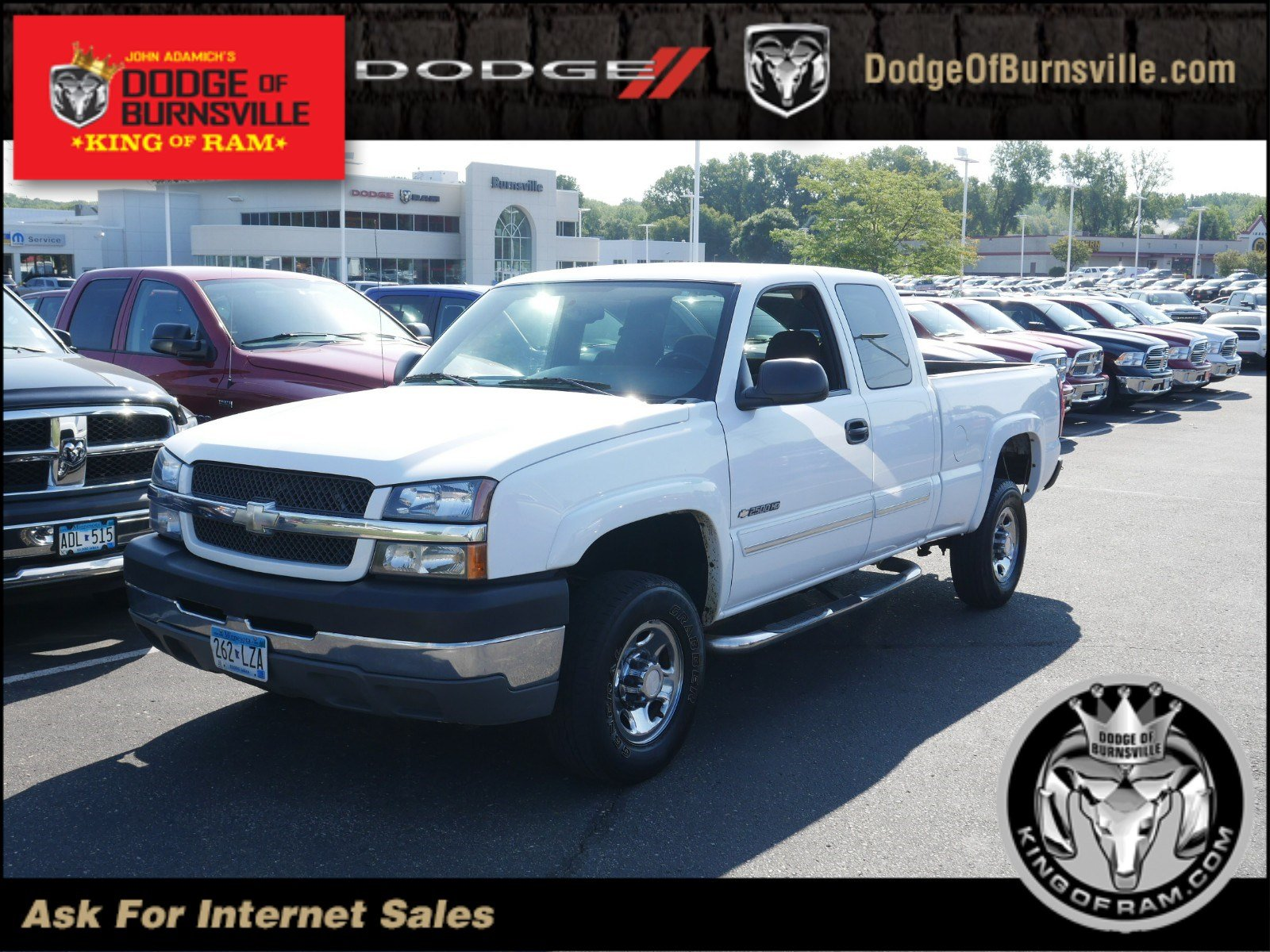 Pre Owned 2004 Chevrolet Silverado 2500HD LS Extended Cab Pickup in