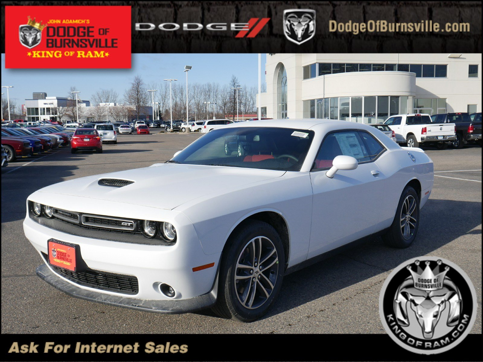 New 2019 Dodge Challenger Gt Coupe In Burnsville N32508 Dodge Of