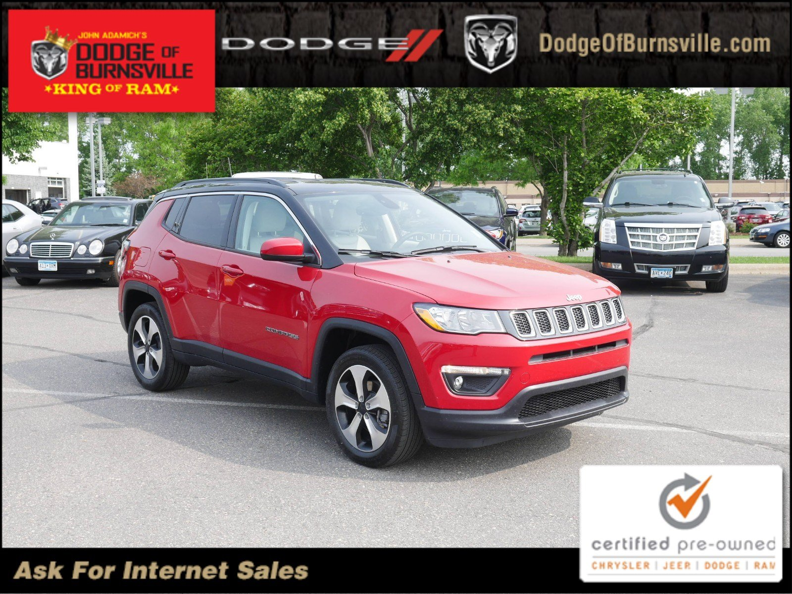 Certified Pre Owned Jeep >> Certified Pre Owned 2018 Jeep Compass Latitude Sport Utility In