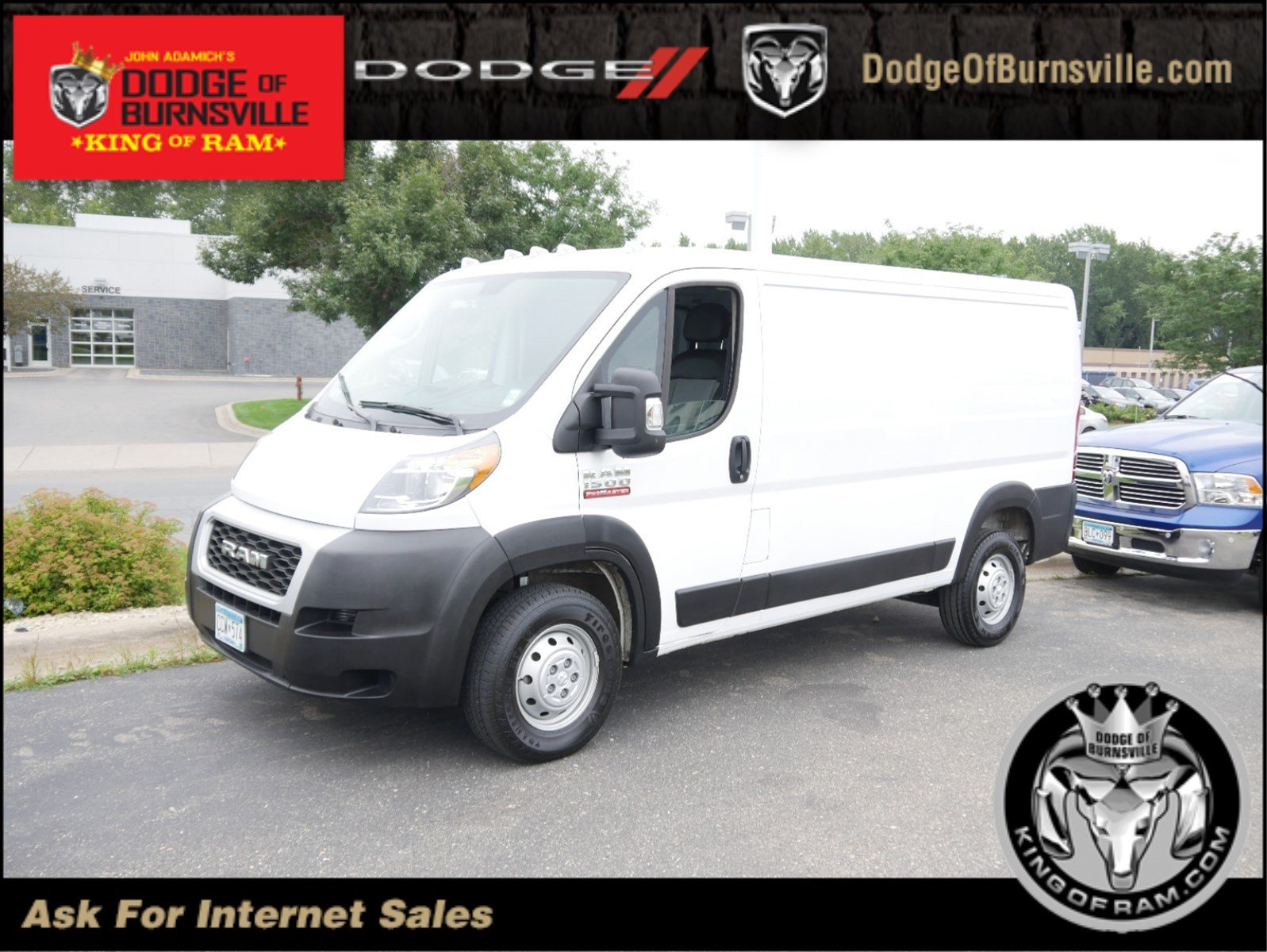 Certified Pre-Owned 2019 Ram ProMaster Cargo Van Low Roof