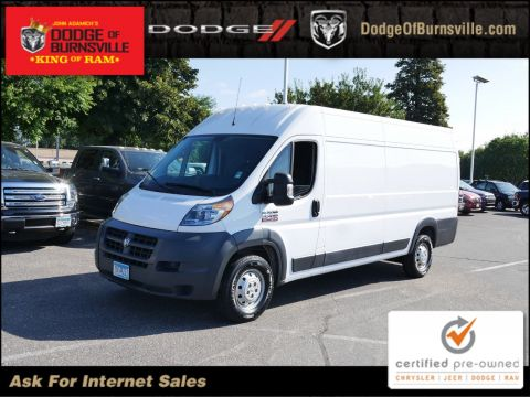 Certified Pre-Owned 2017 Ram ProMaster Cargo Van High Roof